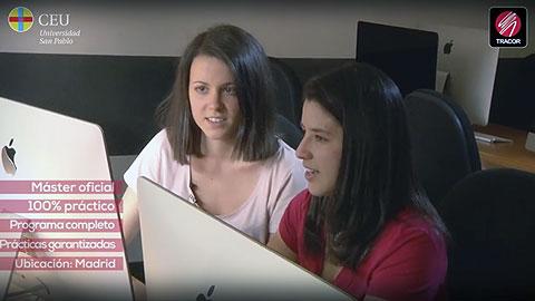 Ana Ester y Mary Gaby alumnas de TRACOR