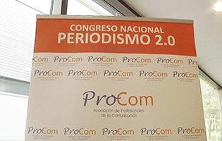 reportaje congreso periodismo alumnos master produccion tv