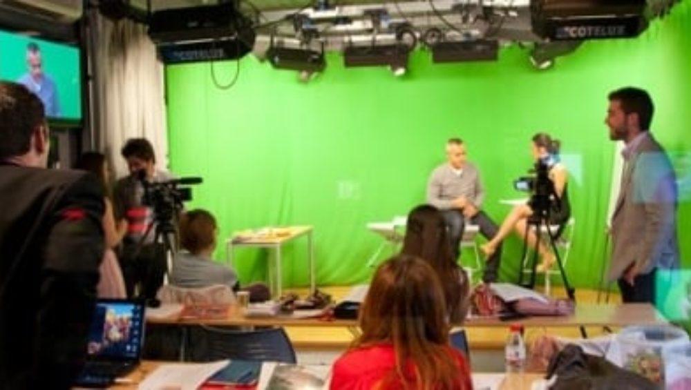 presentador jordi gonzalez en el master en reporterismo
