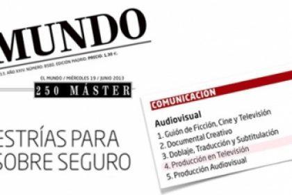 ranking el mundo master comunicacion