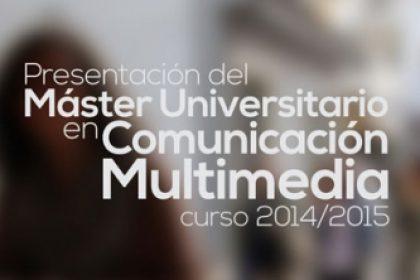 master universitario comunicacion multimedia