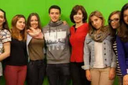 alumnos tecnicas presentacion frente camara master reporterismo tv