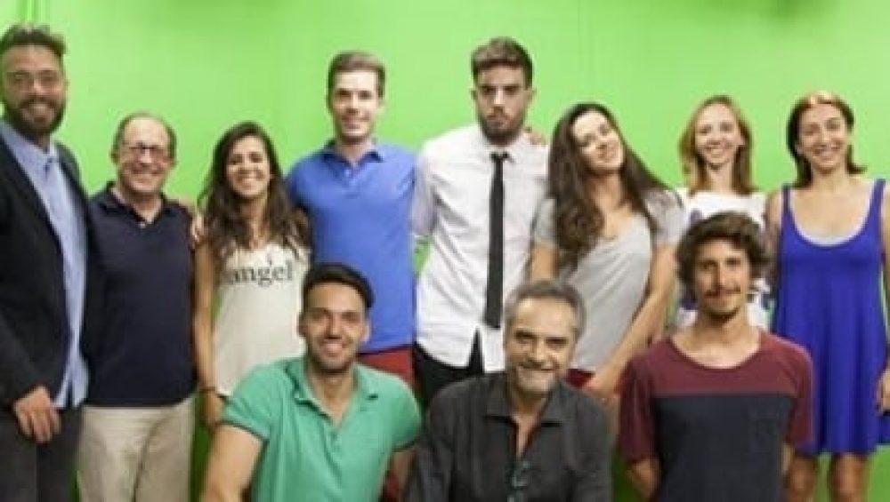 presentadores alumnos produccion tv tracor