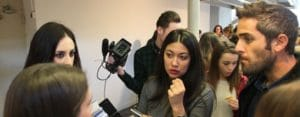 woman week alumnos tracor reporterismo