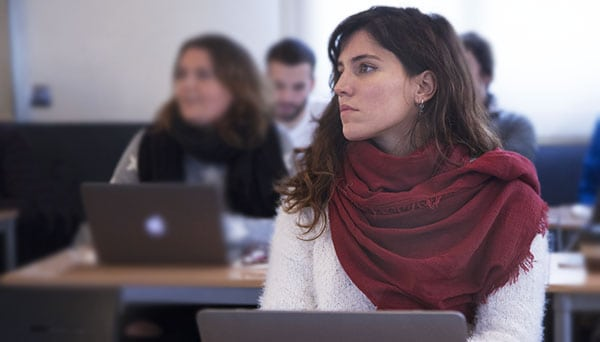 máster en comunicación corporativa alumna