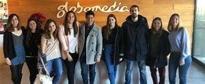 alumnos produccion tv tracor globomedia