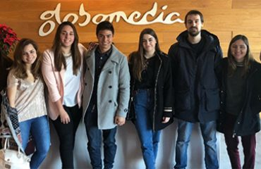 alumnos produccion tv tracor globomedia