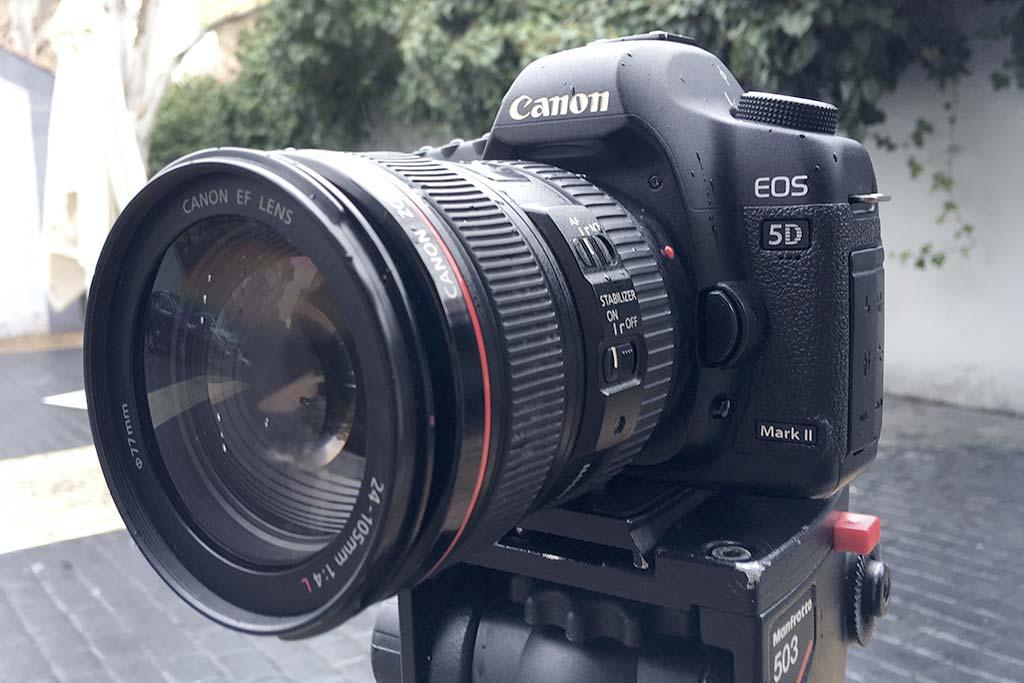 canon eos 5d markII tracor