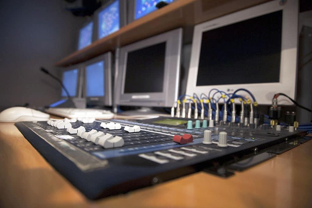 mesa mezcla sonido instituto tracor