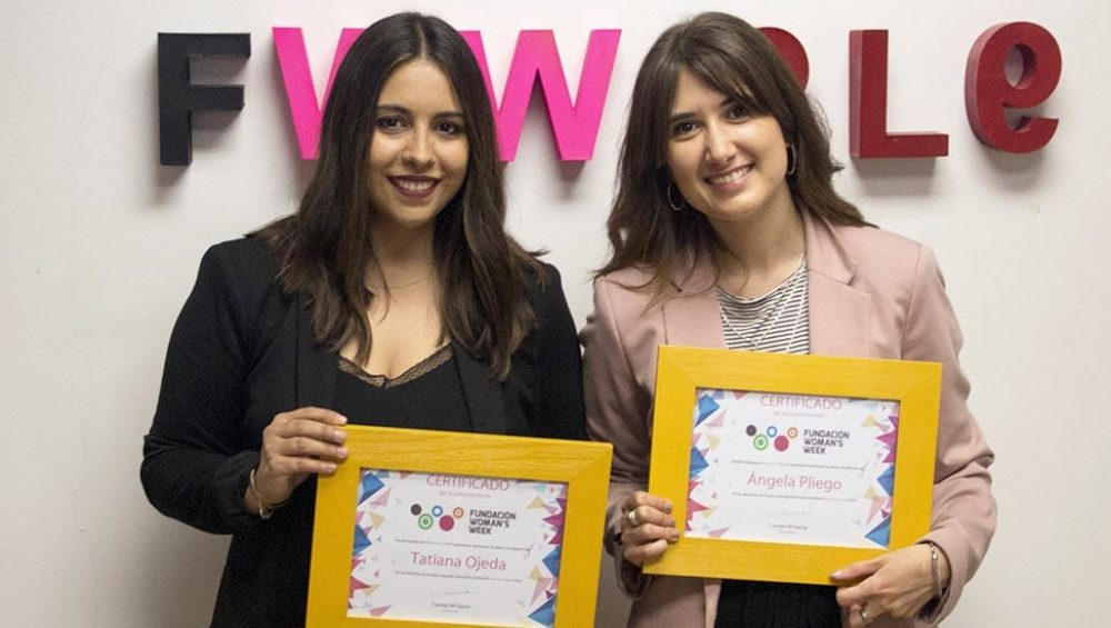 premios woman week reportaje alumnos tracor