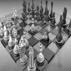 diseno ajedrez modelado 3d