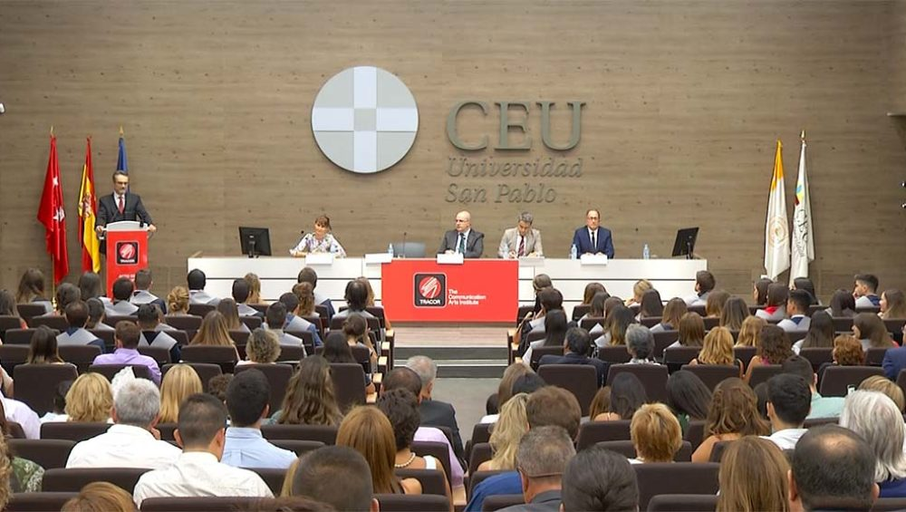 ceremonia clausura 2018 instituto tracor