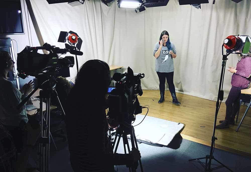 trabajo alumnos produccion tv tracor