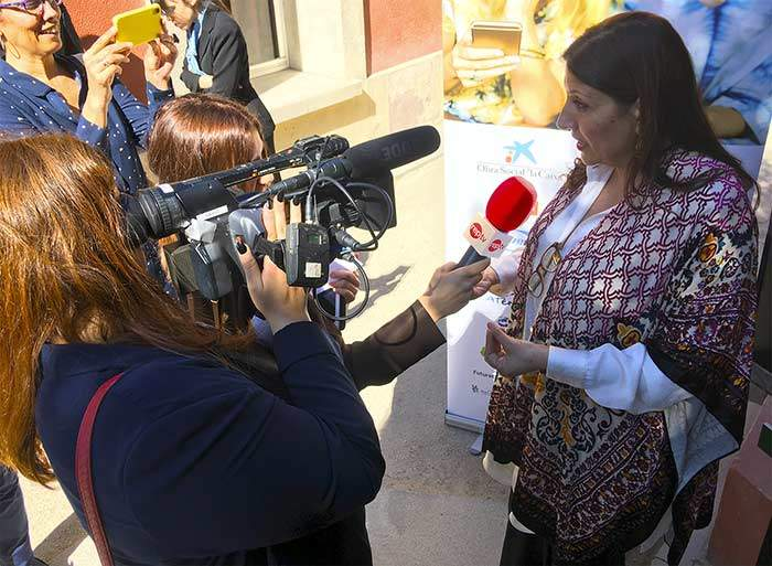 entrevista ponente madrid womans week alumnas reporterismo