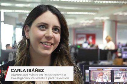 alumna master reporterismo tracor redactora telemadrid
