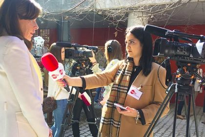 alumnas entrevista madrid woman week 2019 master reporterismo tv
