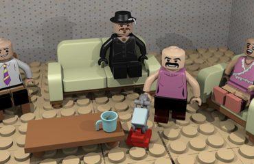 Diseño 3D lego temática película Bohemia Rapsody